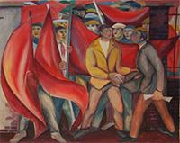 Forces murales, À Herstal en 1936 (détail)